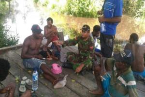 Babinsa Mapurujaya motivasi generasi muda hindari minuman keras