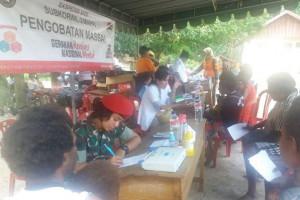 Ekpedisi NKRI gelar pengobatan gratis di Nambioman