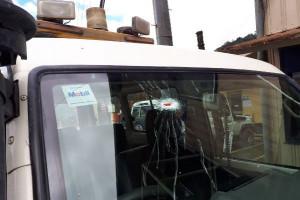 Kendaraan patroli keamanan Freeport ditembak orang tak dikenal