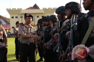 Polda Papua kirim satu pleton Brimob ke Paniai
