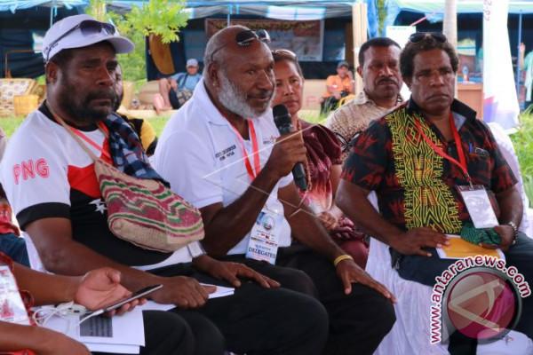 Pertemuan bisnis di perbatasan RI-PNG