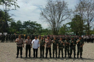 TNI-Brimob masih disiagakan di Banti-Kimbeli