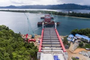 Kementerian PUPR desain wisata jembatan Hamadi-Holtekam