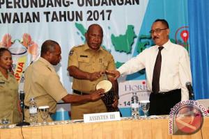 Pemprov Papua evaluasi penyelesaian administrasi kepegawaian