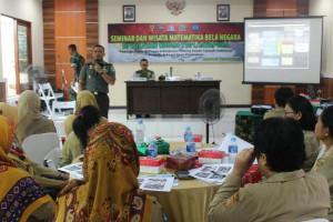 Kodim Jayapura gelar seminar dan wisata matematika bela negara