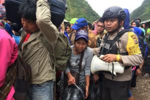 Kontak tembak warnai aksi pembebasan 346 warga sipil Banti-Kimbeli