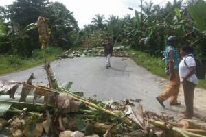 Aparat TNI-Polri berupaya buka blokade jalan Arso