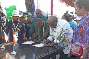 Papua dan Morobe jalin kerja sama provinsi kembar