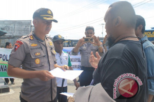 Delapan oknum polisi jadi tersangka penganiayaan wartawan Timika