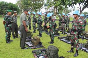 Kasdam Cenderawasih pimpin upacara pelepasan pasukan PBB ke Kongo