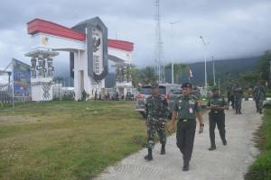 Paban VI Surta Mabes TNI kunjungi perbatasan RI-PNG