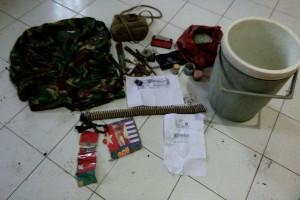 Polisi Yapen geledah rumah simpan senjata api