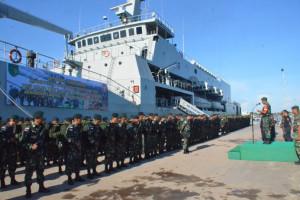 1.350 prajurit TNI amankan perbatasan RI-PNG sektor selatan