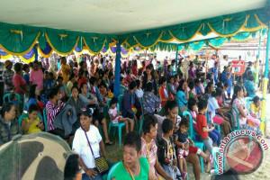 Masyarakat Timika serbu pasar murah jelang natal