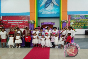 TK Marthen Luther Abepura gelar ibadah Natal