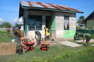 Korem ATW bedah rumah terkait Hari Juang Kartika