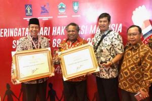 Mimika raih penghargaan Kabupaten Peduli HAM