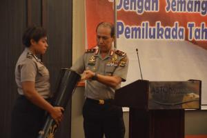 Hasil gambar untuk Polda Papua gelar rapim untuk wujudkan pilkada damai