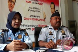 Kantor imigrasi Jayapura deportasi 38 WNA