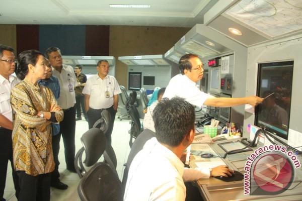 Menteri BUMN di ATC Bandara Sentani