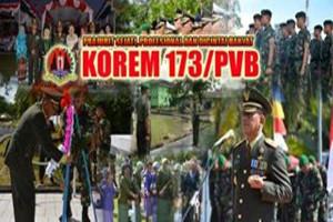 Kolonel Inf Bahman jabat Danrem 173/PVB