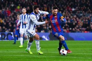 Suarez inspirasi kebangkitan Barcelona di Markas Real Sociedad
