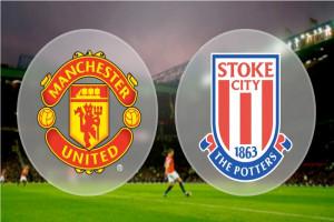 Manchester United menang 3-0 atas Stoke City di Old Trafford