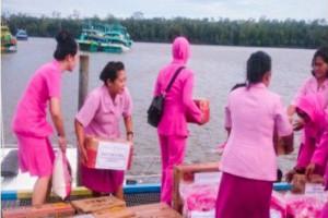 Bhayangkari Polda Papua kirim tim baksos ke Asmat