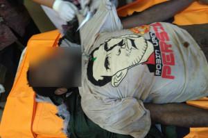 Polisi Jayawijaya evakuasi dua mayat pria