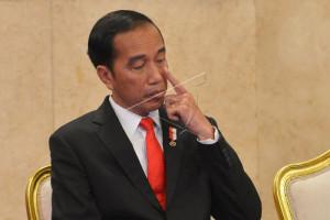 Presiden Jokowi hadiri pernikahan anak mantan sopirnya