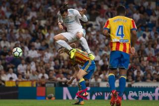 Real Madrid menang besar atas Valencia