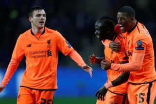 Liverpool permalukan Porto lima gol tanpa balas
