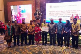 Pemprov Papua terima penghargaan akuntabilitas kinerja 2017