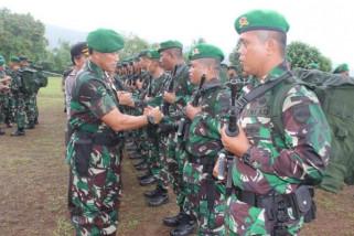 Kasdam Cenderawasih terima tiga batalyon pengamanan perbatasan RI-PNG