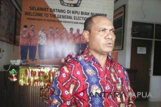KPU Biak Numfor umumkan daftar caleg sementara Pemilu 2019
