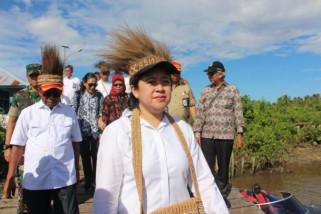 Menko PMK resmikan kampung siaga bencana Asmat