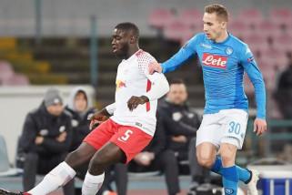 Napoli takluk 1-3 dari Leipzig di Liga Europa