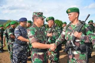 160 prajurit TNI dukung pengamanan Pilkada Biak Numfor