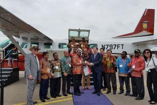 Pemerintah Kabupaten Puncak beli dua pesawat terbang