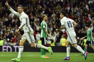 Real Madrid bangkit dari ketinggalan hingga taklukkan Betis