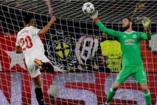 Sevilla dan MU bermain imbang 0-0 di Liga Champions