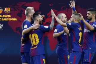 Barcelona menang besar atas AS Roma