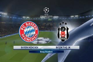 Bayern Munich lumat Besiktas 5-0 di Liga Champions