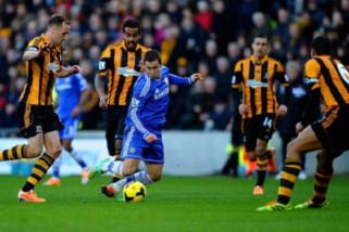 Chelsea tundukkan Hull City untuk menuju perempat final Piala FA