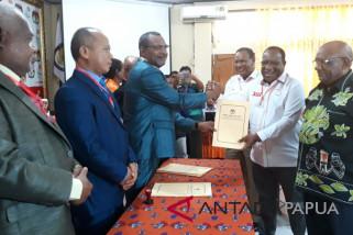 KPU tetapkan dua paslon peserta PIlgub Papua