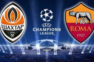 Shakhtar Donetsk kalahkan Roma 2-1 di Liga Champions