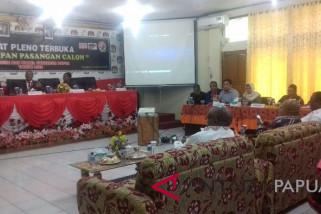KPU: pleno penetapan paslon Pilgub Papua ditunda