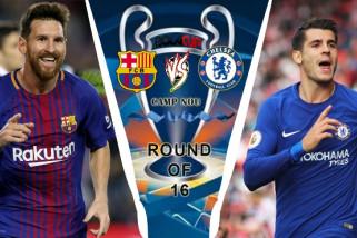 Barcelona hancurkan Chelsea di Liga Champions