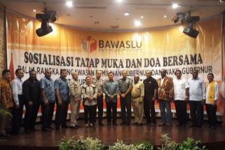 Bawaslu Papua gelar sosialisasi dan doa bersama