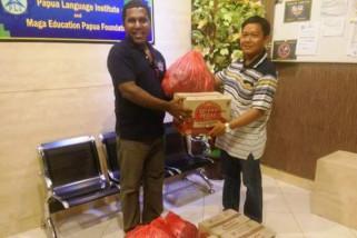 Empat ton bantuan untuk korban gempa PNG siap dikirim